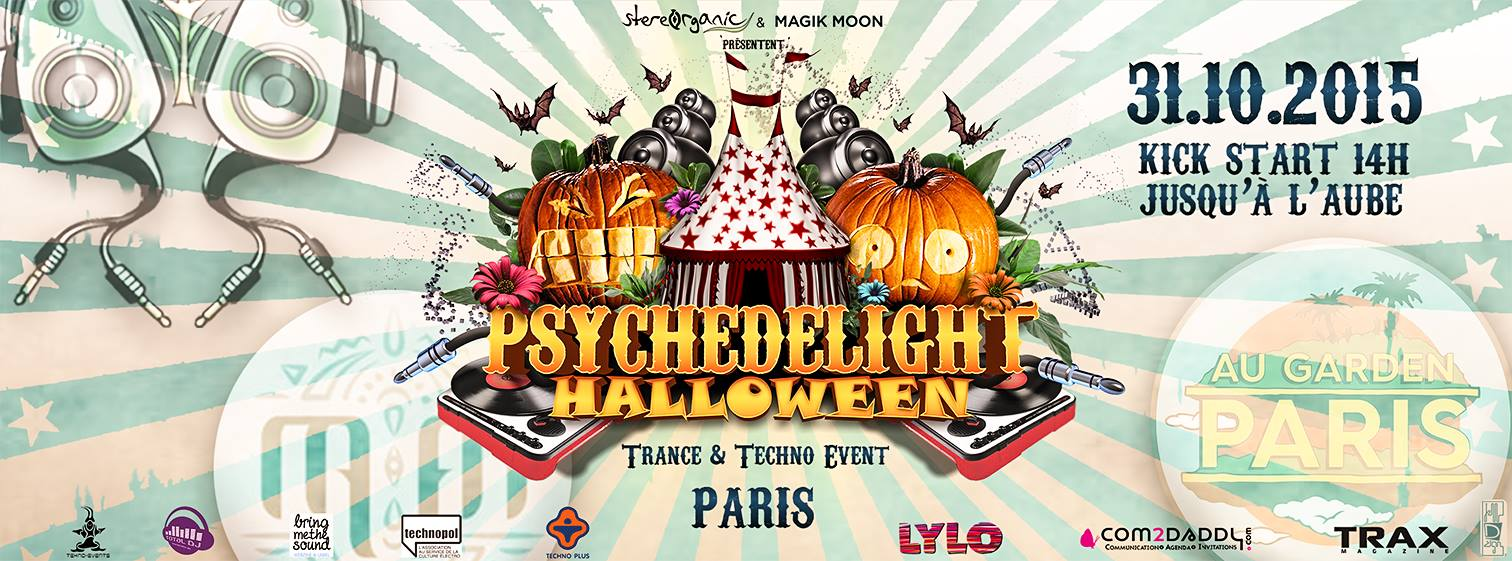 Gagarin @ Psychedelight Halloween (Paris)